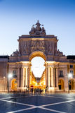 The Praca do Comercio (English: Commerce Square) in Lisbon Royalty Free Stock Photography