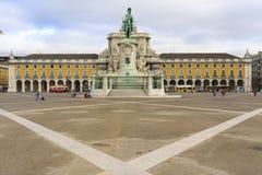 Praca do Comercio, Lisboa Royalty Free Stock Photos