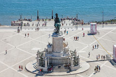 Praca do Comercio, Lisbon Stock Photography