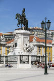 Praca do Comercio - Lisbon - Portugal. royalty free stock images