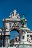Praca do Comercio in Lisbon, Portugal Royalty Free Stock Images