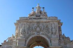 Praca do Comercio. Lisbon Royalty Free Stock Photo