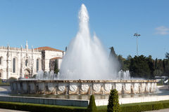 Praca do Imperio - Empire Square fountain Royalty Free Stock Photography