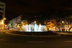 Praca do Infante in Fuchal, Madeira royalty free stock image