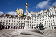 Praca do Municipio in Lisbon Stock Photography