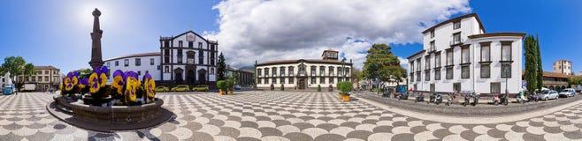 Praca do Municipio square. Royalty Free Stock Photo