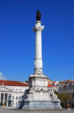Praca do Rossio (Rossio Square), Lisbon, Portugal Royalty Free Stock Image