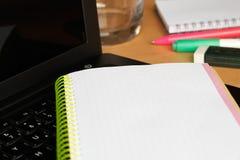 praca domowa Fotografia Stock