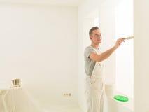 Praca domowa męski obraz Zdjęcie Stock