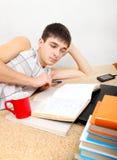 praca domowa, nastolatków Zdjęcia Royalty Free