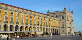 Praca font Commercio, Lisbonne Image libre de droits