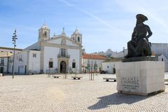 Praca Infante Dom Henriquie, Lagos, Portugal Stock Photography