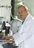 praca laboratoryjna Fotografia Royalty Free