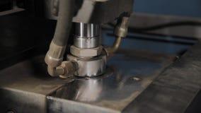 Praca maszyna dla dmuchać klingeryt butelki dla wody pitnej zdjęcie wideo