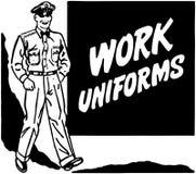 Praca mundury Zdjęcia Stock
