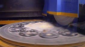 Praca przemysłowa nawierzchniowa szlifierska maszyna Mleć płaska metal część zbiory