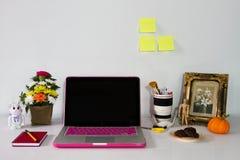 Praca stół Zdjęcie Stock