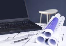 praca stołowa Zdjęcie Stock