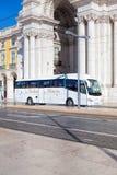 Pracaen gör Comercio av den Lissabon staden, Portugal Royaltyfri Fotografi