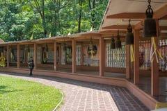 Prachin Buri, Thailand - 13. April 2018: Besucherweg in stockbild