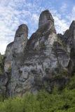 The Prachov Rocks Stock Photos