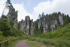 Prachov rocks Stock Photo