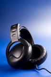 Prachtig aangestoken hoofdtelefoons Stock Afbeeldingen
