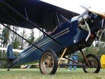 Prachtig bewerkte homebuilt Pietenpol-Luchtkampeerauto Stock Foto's