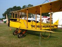 Prachtig hersteld Curtiss Jenny jn-4 acteur op tournee Royalty-vrije Stock Afbeelding