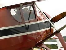 Prachtig hersteld klassiek Fairchild F24 Stock Foto's