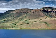 Prachtig landschap, Dillon Pinnacles, Colorado stock fotografie