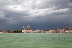 Prachtig licht in Venetië Stock Afbeelding