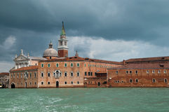 Prachtig licht in Venetië Stock Fotografie