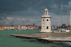 Prachtig licht in Venetië Stock Afbeeldingen
