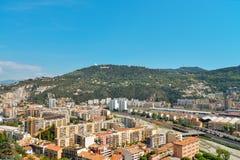 Prachtig panorama van Nice Royalty-vrije Stock Afbeelding