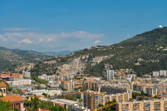 Prachtig panorama van Nice Stock Foto's
