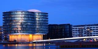 Prachtig 's nachts Kopenhagen Stock Fotografie