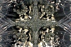 Prachtig samenvatting geïllustreerd glasontwerp Stock Foto's