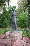 Prachtig teruggegeven beeldhouwwerk van historische schrijver en dichter, Le Royalty-vrije Stock Afbeelding