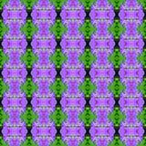 Prachtig van naadloze de bloem van de boeketorchidee vector illustratie