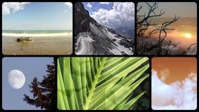 Prachtige aarde, montering stock videobeelden