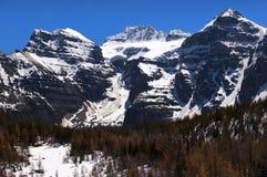 Prachtige bergen van Canada Royalty-vrije Stock Foto