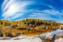 Prachtige de herfstdag stock fotografie