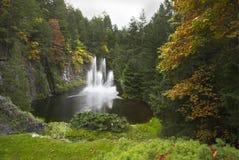 Prachtige fontein royalty-vrije stock afbeelding