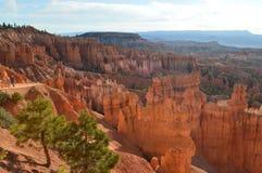 Prachtige Hodes-Vormingen in Bryce Canyon geology Reis nave stock fotografie