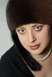 Prachtige jonge vrouw Royalty-vrije Stock Foto