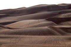 Prachtige kleuren van het Groot Nationaal Park van Zandduinen en Domein, San Luis Valley, Colorado, Verenigde Staten stock afbeeldingen