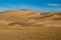 Prachtige kleuren van het Groot Nationaal Park van Zandduinen en Domein, San Luis Valley, Colorado, Verenigde Staten royalty-vrije stock afbeelding