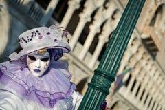 Het Masker van Carnaval in Venetië Royalty-vrije Stock Foto's