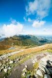 Prachtige mening van de bergen Royalty-vrije Stock Afbeeldingen